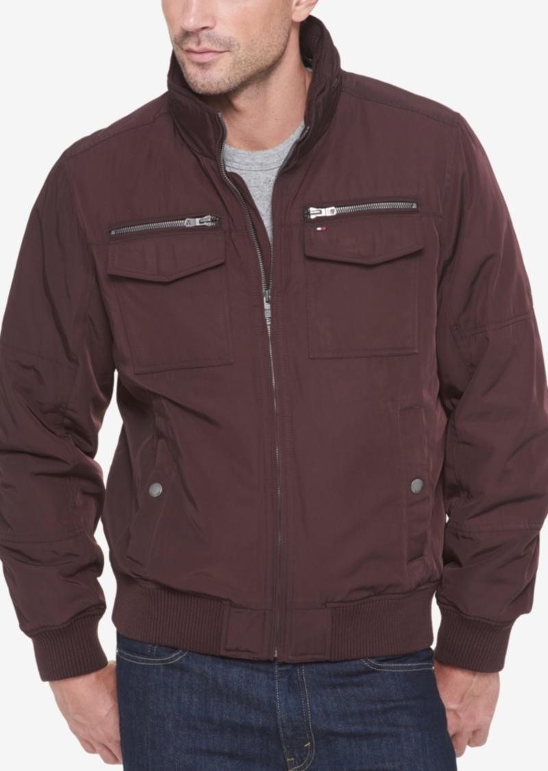 Tommy Hilfiger Men's Four-Pocket Unfilled Performance Bomber Jacket