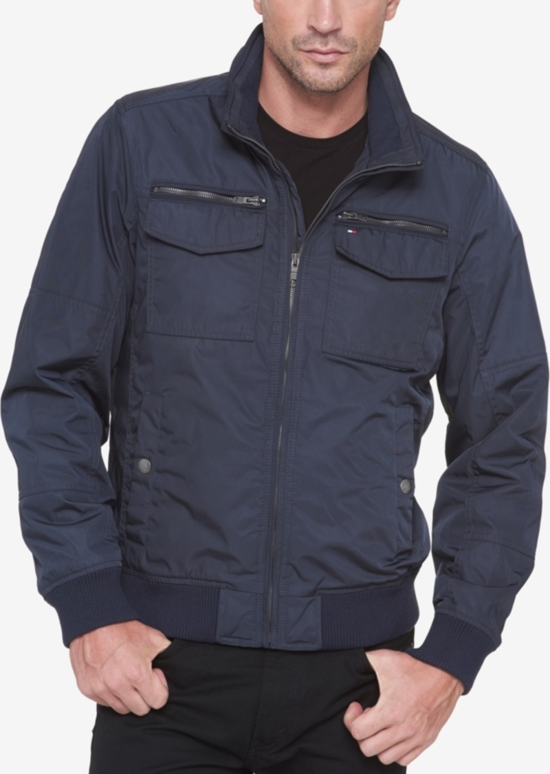 Tommy Hilfiger Men's Four-Pocket Unfilled Performance Bomber Jacket