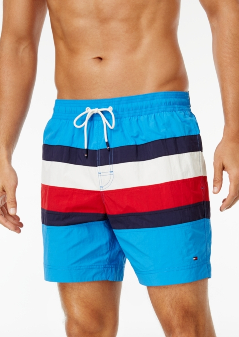 1fe68de563b99 Tommy Hilfiger Tommy Hilfiger Men's Gabriel Swim Trunks Now $34.99