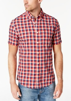 Tommy Hilfiger Men's Grant Plaid Shirt, Created for Macy's
