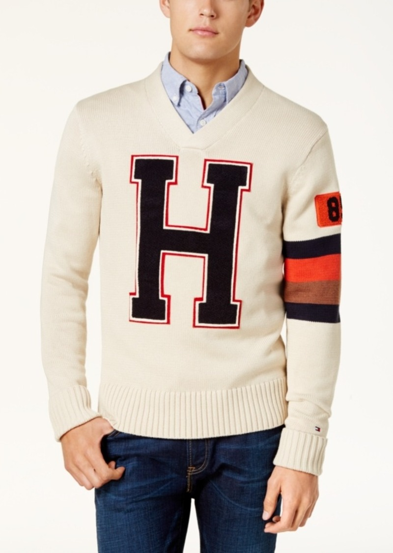 collection tommy hilfiger mens v neck sweater pictures. Black Bedroom Furniture Sets. Home Design Ideas
