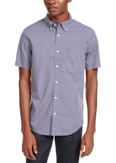 Tommy Hilfiger Men's Hall Custom-Fit Geo-Print Shirt