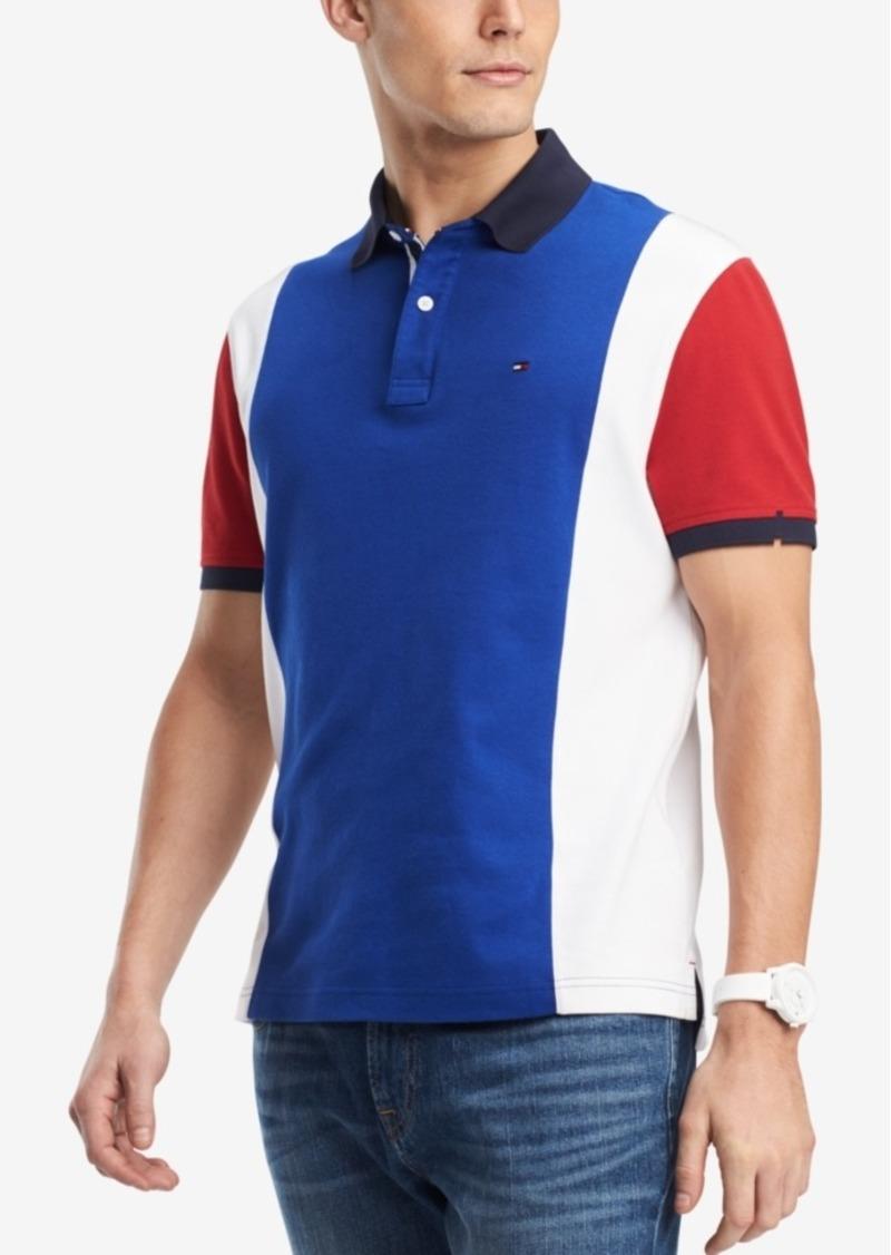 588d5f3ff Tommy Hilfiger Tommy Hilfiger Men's Harvick Colorblocked Polo ...