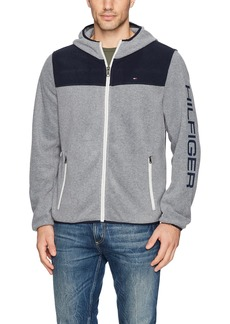 Tommy Hilfiger Men's Hooded Performance Fleece Jacket