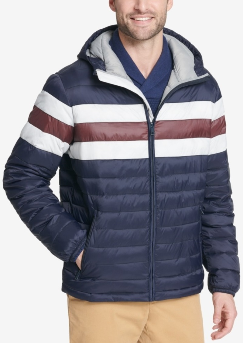fdfe9107d228 Tommy Hilfiger Men's Color Block Hooded Ski Coat, Created for Macy's