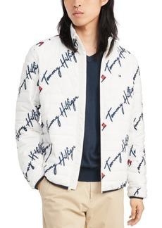 Tommy Hilfiger Men's Insulator Quilted Logo-Print Jacket