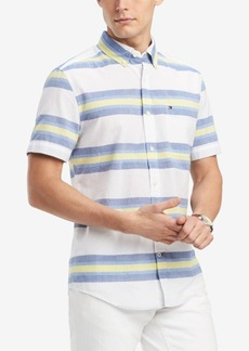 Tommy Hilfiger Men's Keen Striped Shirt, Created for Macy's