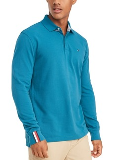 Tommy Hilfiger Men's Kent Long Sleeve Polo Shirt, Created for Macy's
