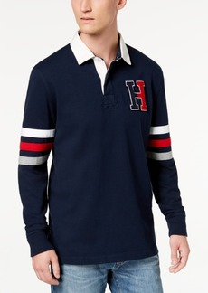 ed19bb83 Tommy Hilfiger Men's Kunitz Rugby Classic Fit Polo Shirt, Created for Macy's