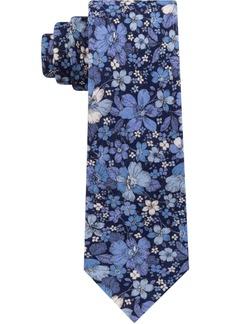 Tommy Hilfiger Men's Large Floral Slim Silk Tie