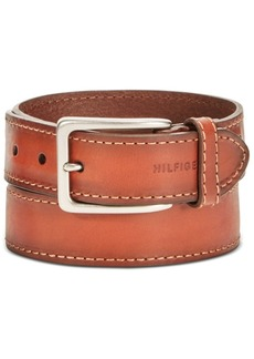 Tommy Hilfiger Men's Leather Casual Belt
