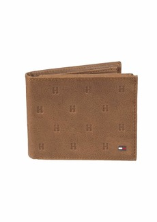 5c724103bf9 Tommy Hilfiger Men s Leather Wallet - RFID Blocking Slim Thin Bifold with  Removable Card Holder and