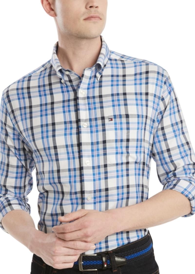 Tommy Hilfiger Men's Levi Classic-Fit Check Shirt