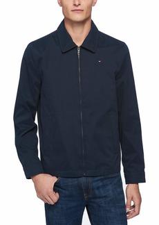 Tommy Hilfiger Men's Lightweight Microtwill Golf Jacket (Standard and Big & Tall)