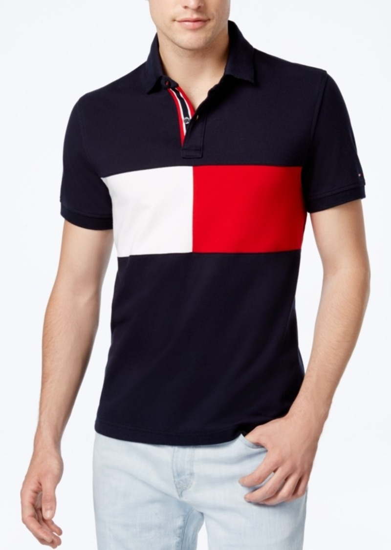 86bfed52c423 Tommy Hilfiger Tommy Hilfiger Men's Logo Carson Colorblocked Stretch ...