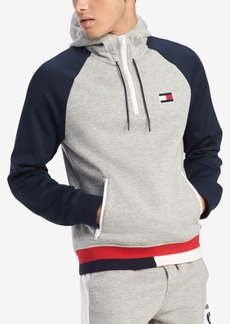 Tommy Hilfiger Men's Big & Tall Logo Graphic Hoodie, Created for Macy's