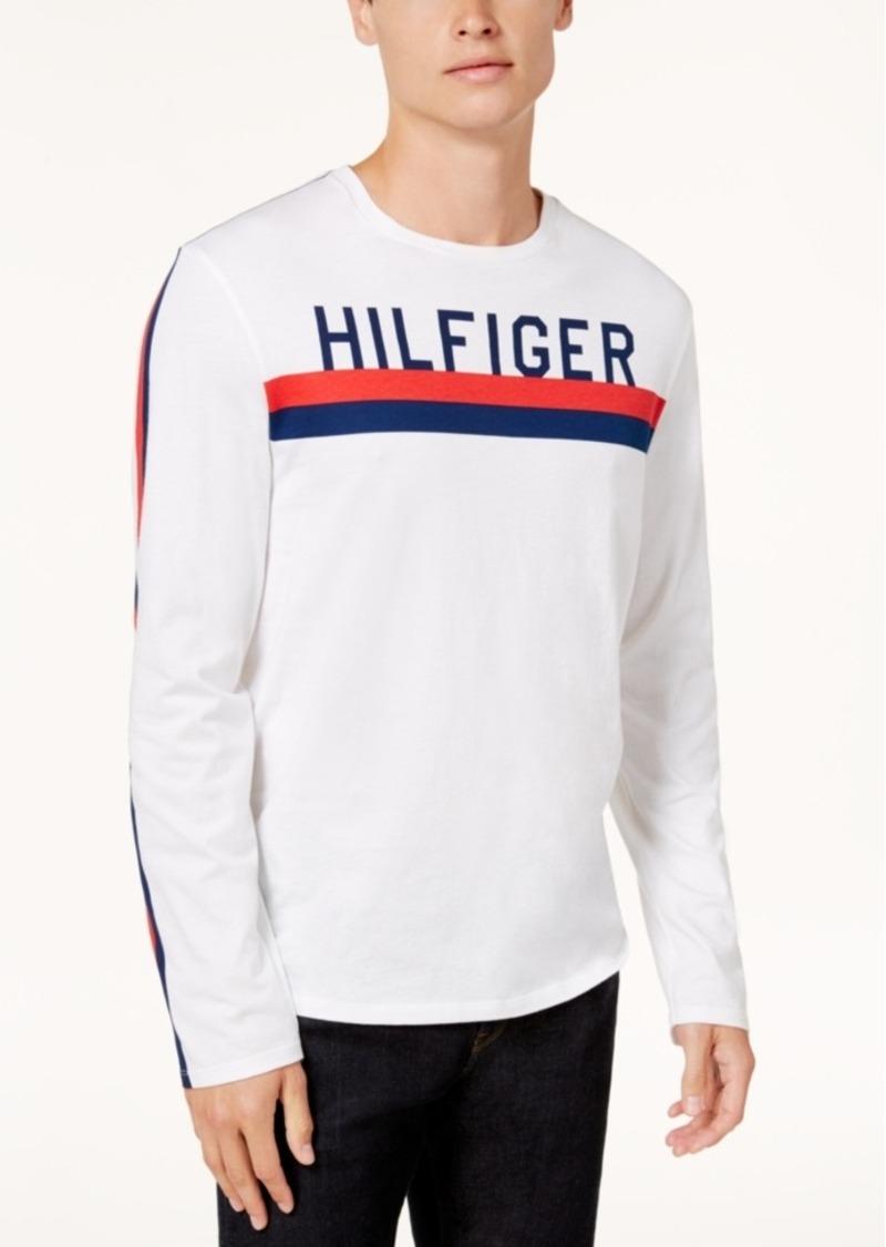 89420ebfd On Sale today! Tommy Hilfiger Tommy Hilfiger Men s Logo-Print Long ...