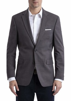 Tommy Hilfiger Men's Regular Classic Blazer Grey/Red R