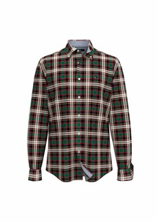 Tommy Hilfiger Men's Long Sleeve Button Down Shirt in Classic Fit  LG