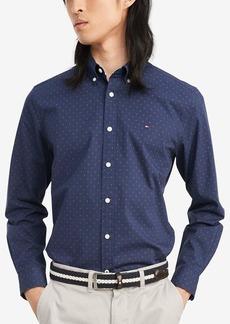 Tommy Hilfiger Men's Long Sleeve Button Down Woven Shirt  XXL
