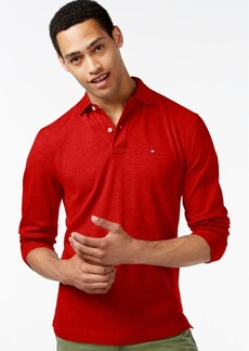Tommy Hilfiger Men's Long-Sleeve Classic-Fit Polo