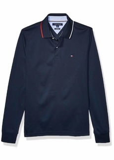 Tommy Hilfiger Men's Long Sleeve Polo Shirt in Slim Fit