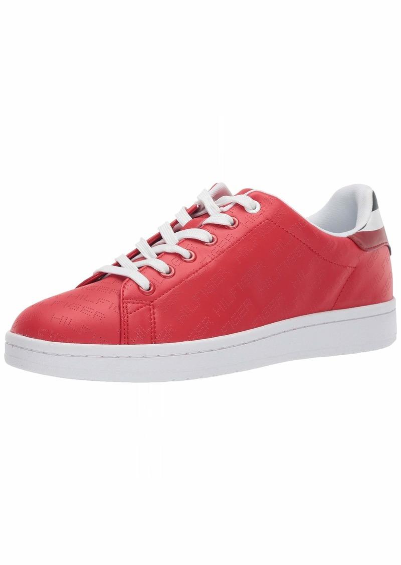 Tommy Hilfiger Men's Loro Sneaker Dark red  Medium US