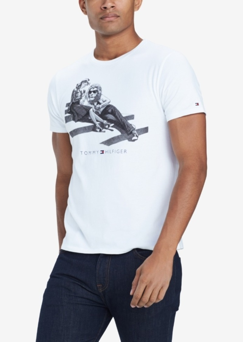 a69c38858 Men's Loungin' Lion Graphic T-Shirt, Created for Macy's. Tommy Hilfiger