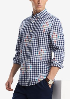 Tommy Hilfiger Men's Lucas Gingham Slim Fit Shirt