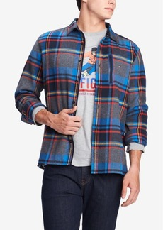 Tommy Hilfiger Men's Lucas Plaid Shirt Jacket, Created for Macy's