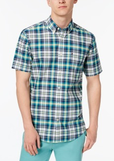 Tommy Hilfiger Men's Madras Plaid Shirt, Created for Macy's