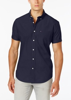 Tommy Hilfiger Big & Tall Men's Maxwell Short-Sleeve Button-Down Shirt