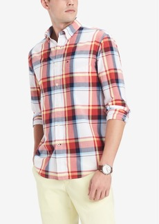 Tommy Hilfiger Men's Mayfield Plaid Shirt, Created for Macy's