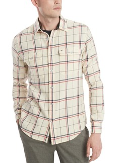Tommy Hilfiger Men's Milan Plaid Shirt, Created For Macy's
