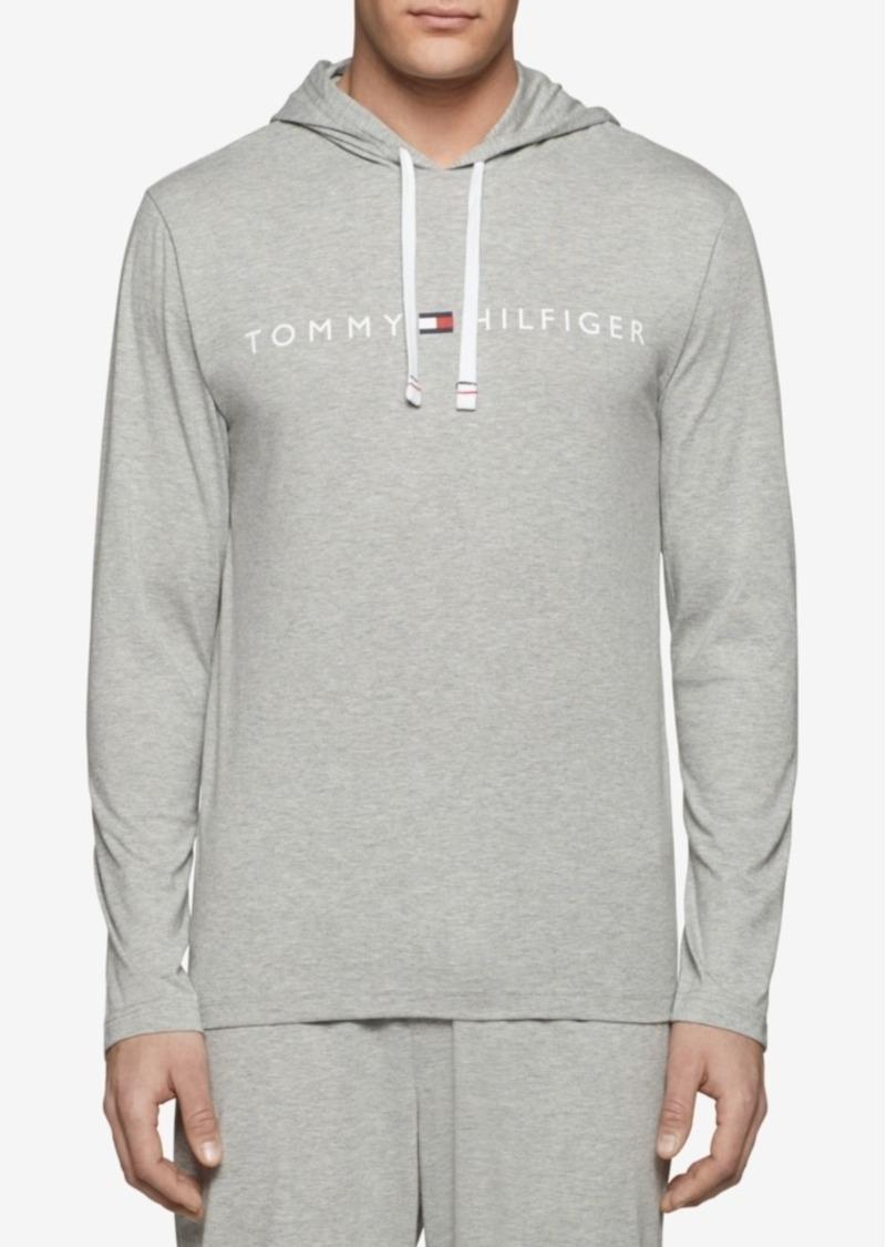 tommy hilfiger tommy hilfiger men 39 s modern essentials jersey hoodie outerwear shop it to me. Black Bedroom Furniture Sets. Home Design Ideas