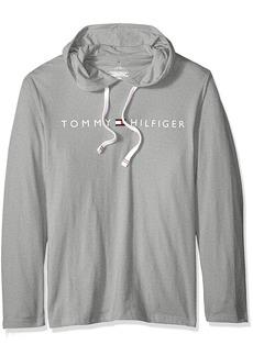 Tommy Hilfiger Men's Modern Essentials Pullover Hoodie Heather Grey/The Logo