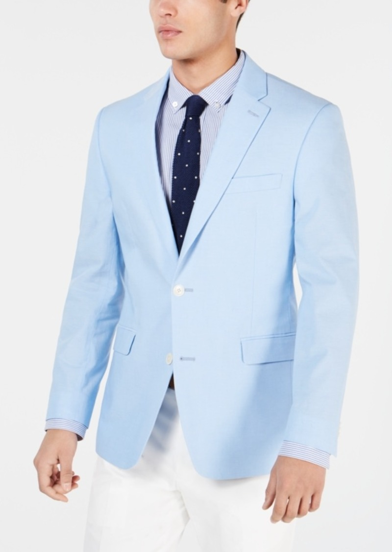 86334dd23 Men's Modern-Fit Chambray Sport Coat