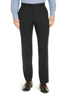 Tommy Hilfiger Men's Modern-Fit Charcoal THFlex Suit Pants