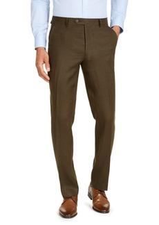 Tommy Hilfiger Men's Modern Fit Linen Suit Separate Pants