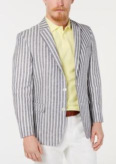 Tommy Hilfiger Men's Modern-Fit Stripe Linen Sport Coat