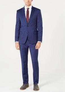 Tommy Hilfiger Men's Modern-Fit Th Flex Stretch Blue Tic Suit