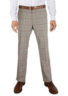 Tommy Hilfiger Men's Modern-Fit Th Flex Stretch Check performance Pants