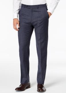 Tommy Hilfiger Men's Modern-Fit Th Flex Stretch Light Blue Plaid Suit Pants