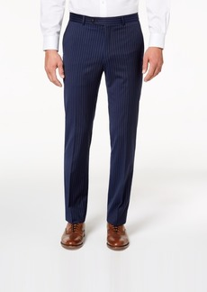 Tommy Hilfiger Men's Modern-Fit Th Flex Stretch Navy Pinstripe Suit Pants