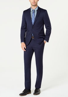 Tommy Hilfiger Men's Modern-Fit Th Flex Stretch Navy Solid Suit