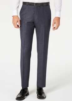 Tommy Hilfiger Men's Modern-Fit THFlex Stretch Blue Plaid Suit Separate Pants