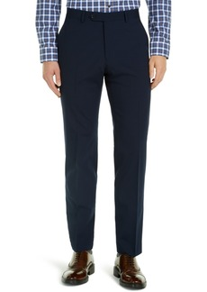 Tommy Hilfiger Men's Modern-Fit THFlex Stretch Navy Check Suit Pants