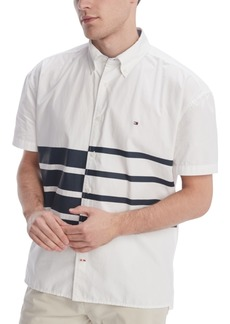 Tommy Hilfiger Men's Moore Stripe Shirt, Created for Macy's