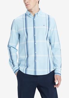 Tommy Hilfiger Men's Morris Custom-Fit Plaid Shirt