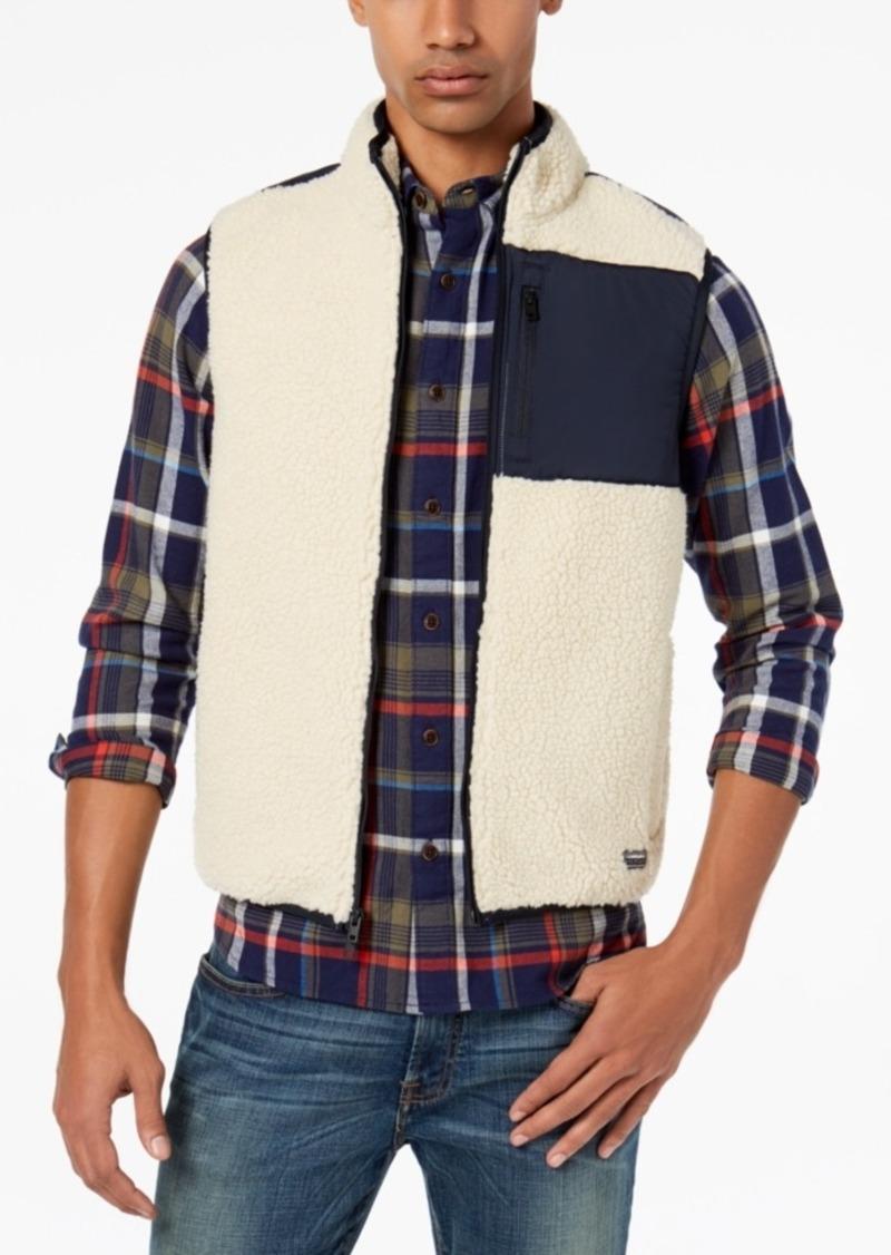 1a20e8f21612f Tommy Hilfiger Tommy Hilfiger Men s Nathan Sherpa Vest